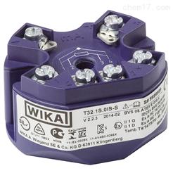 德国威卡WIKA数字式温度变送器