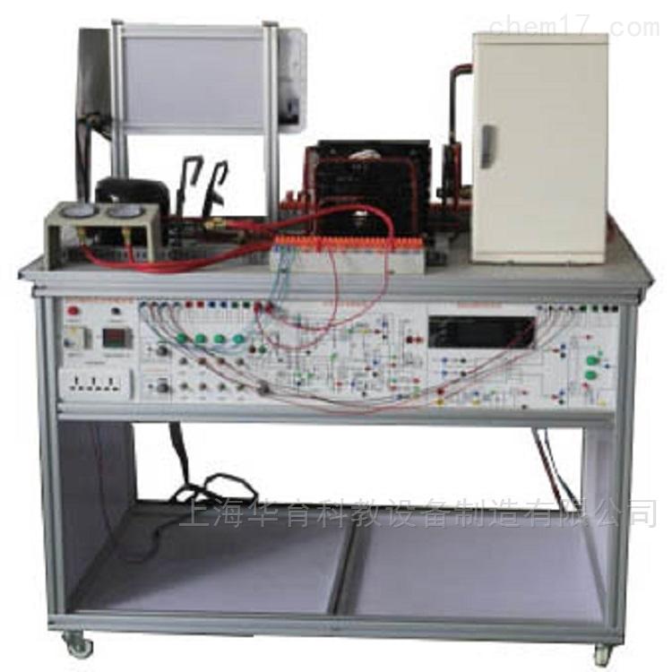 空调与冰箱及电气系统原理与维修实训台