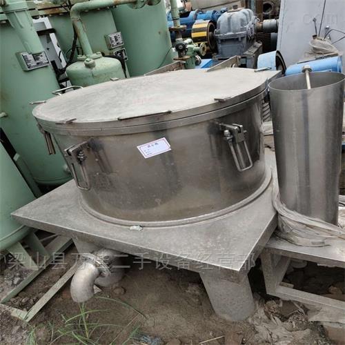 工厂闲置9成新平板式离心机减价出售