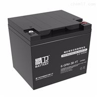 12V38AH科华蓄电池精卫系列6-GFM-38-YT