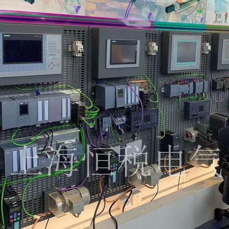 西门子S7-1517CPU控制器启动面板不亮维修
