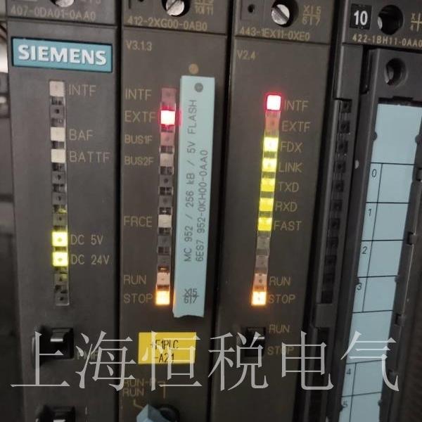 西门子CPU1517-3开机面板无显示维修解决