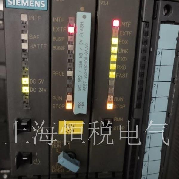 西门子S7-400PLC启动BUS1F红灯报警维修解决