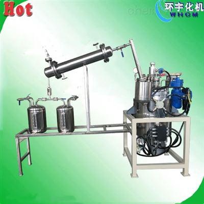 GSH50L不锈钢减压蒸馏反应釜  导热油电加热