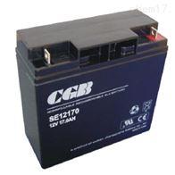 12V17AHCGB长光蓄电池SE12170全新报价