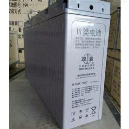 双登狭长型铅酸免维护蓄电池 12V100AH