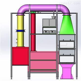 ISO33377-3车厢用过滤器性能检测台