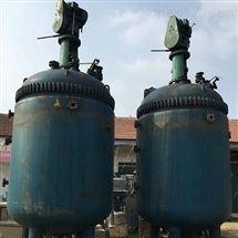 型号二手12吨不锈钢反应釜优惠出售