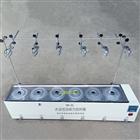 HH-6J水浴恒溫磁力攪拌器(單列六孔帶支架)