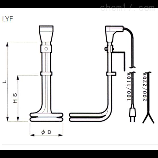 日本just氟树脂液体加热器LYF型/LYT型