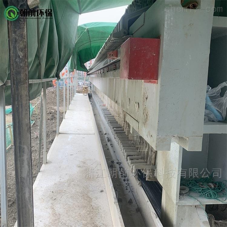 建筑工地打桩泥浆压滤机