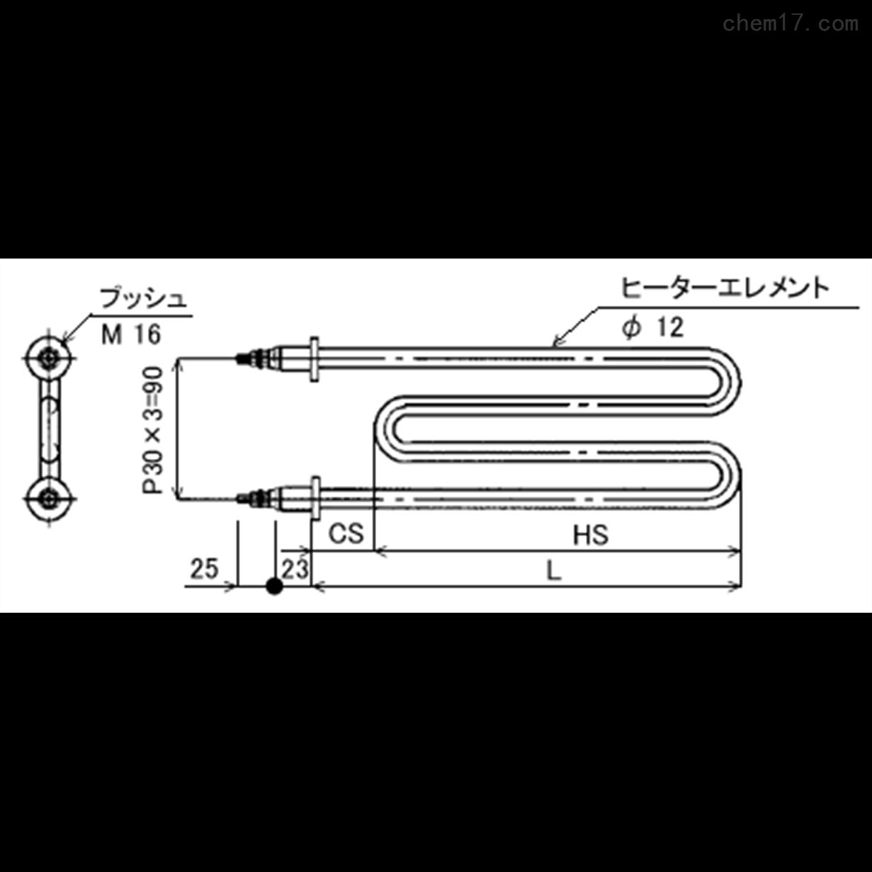日本just液体加热,LMB全不锈钢M型加热器
