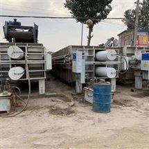 洗沙厂用二手自动压滤机厂家销售