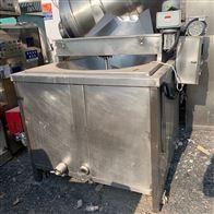 二手食品设备 高效节能燃气油炸锅