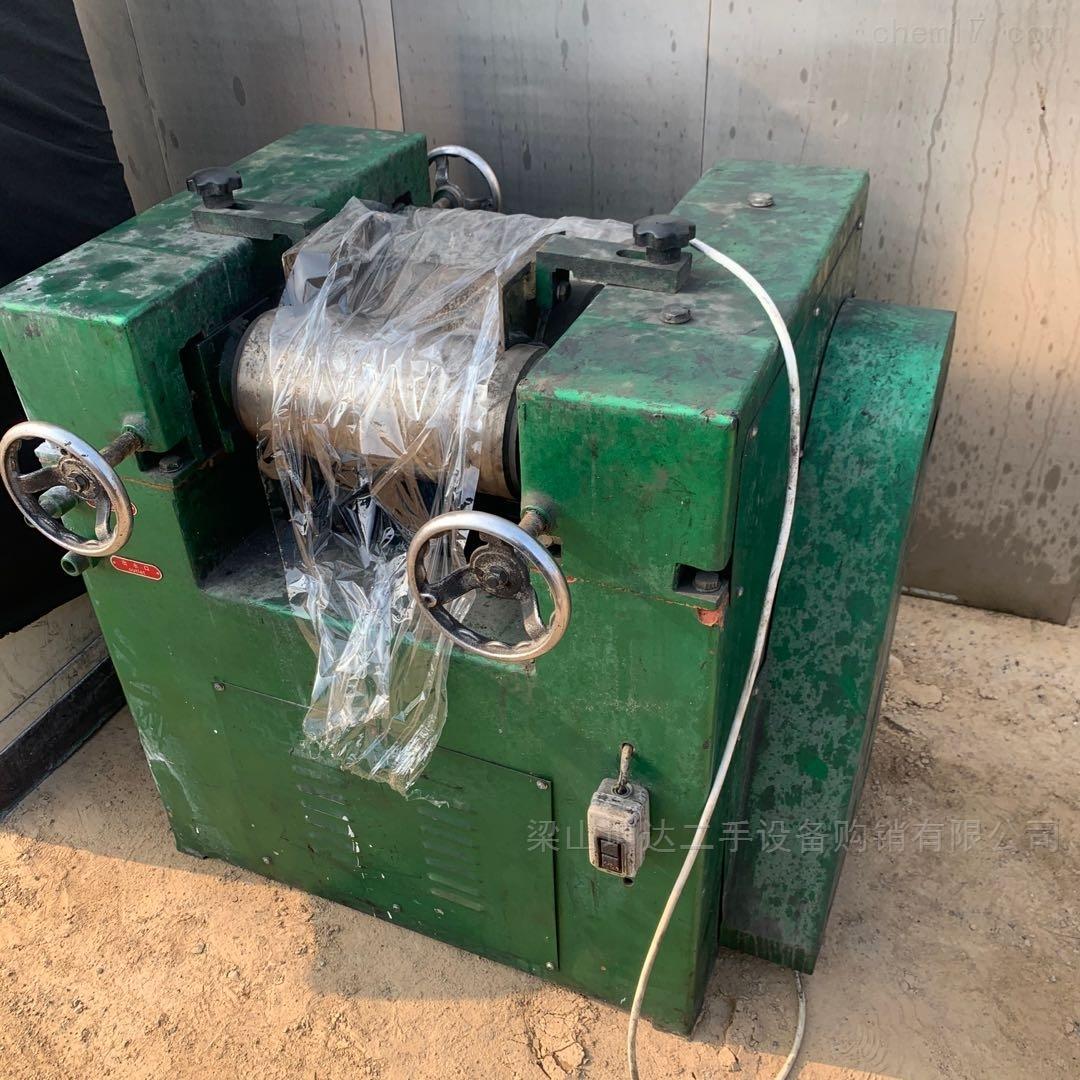 长期回收二手150型三辊研磨机