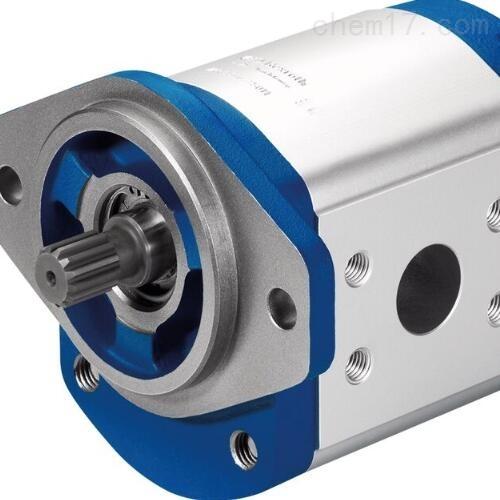 REXROTH齿轮泵R900205108安装示意