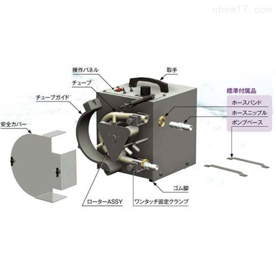 日本elepon适用于小管泵/软管泵分配TR系列