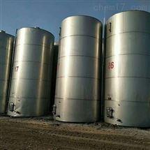 二手80方不锈钢立式储油罐八成新