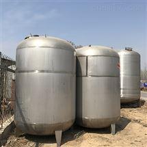 10吨不锈钢储罐八成新