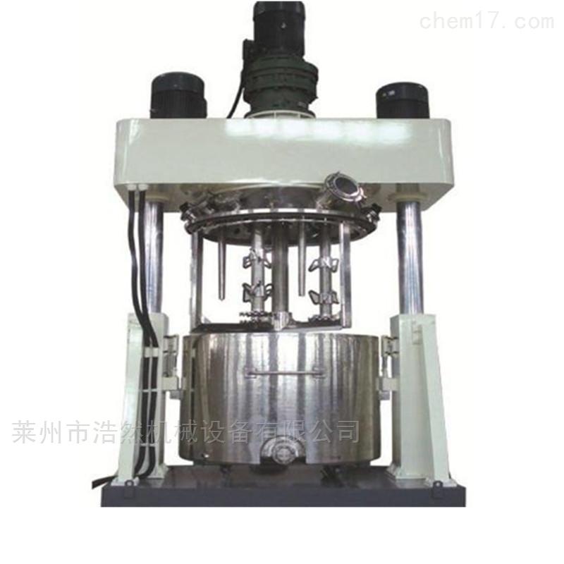耐候胶生产设备强力分散机