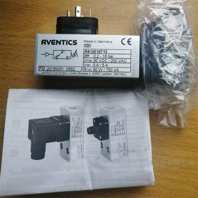 R412010713现货-安沃驰气动元件Aventics压力开关