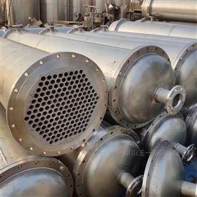二手设备转让二手30平方钛材列管式冷凝器