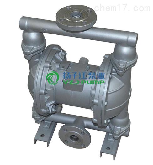 隔膜泵:QBY-50型304不锈钢F46气动隔膜泵