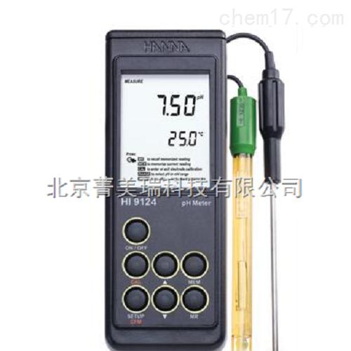 便携式酸度计/防水型pH/温度测定仪