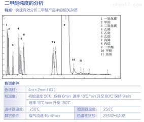 二甲醚纯度的分析
