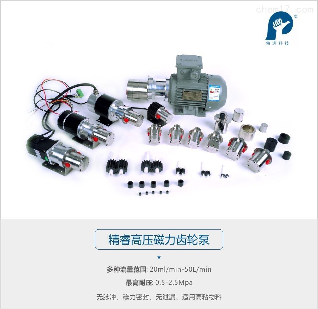 精睿高压磁力齿轮泵