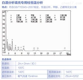 白酒分析填充柱恒温分析
