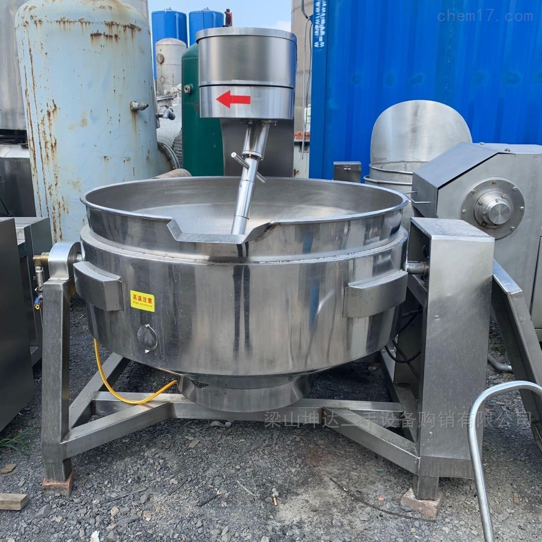 二手高粘度炒锅 行星搅拌夹层锅