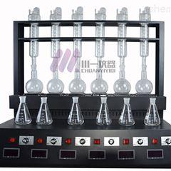 青岛氨氮蒸馏器CYZL-6C多功能蒸馏仪