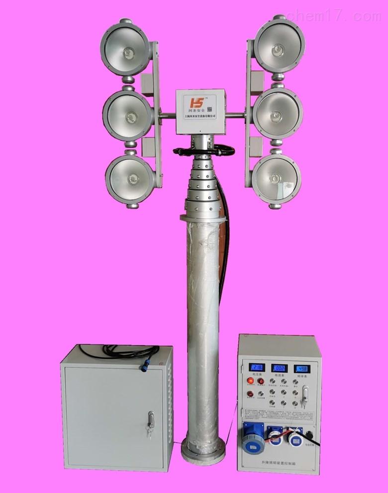 勘察照明灯现场勘察安装移动式月球灯