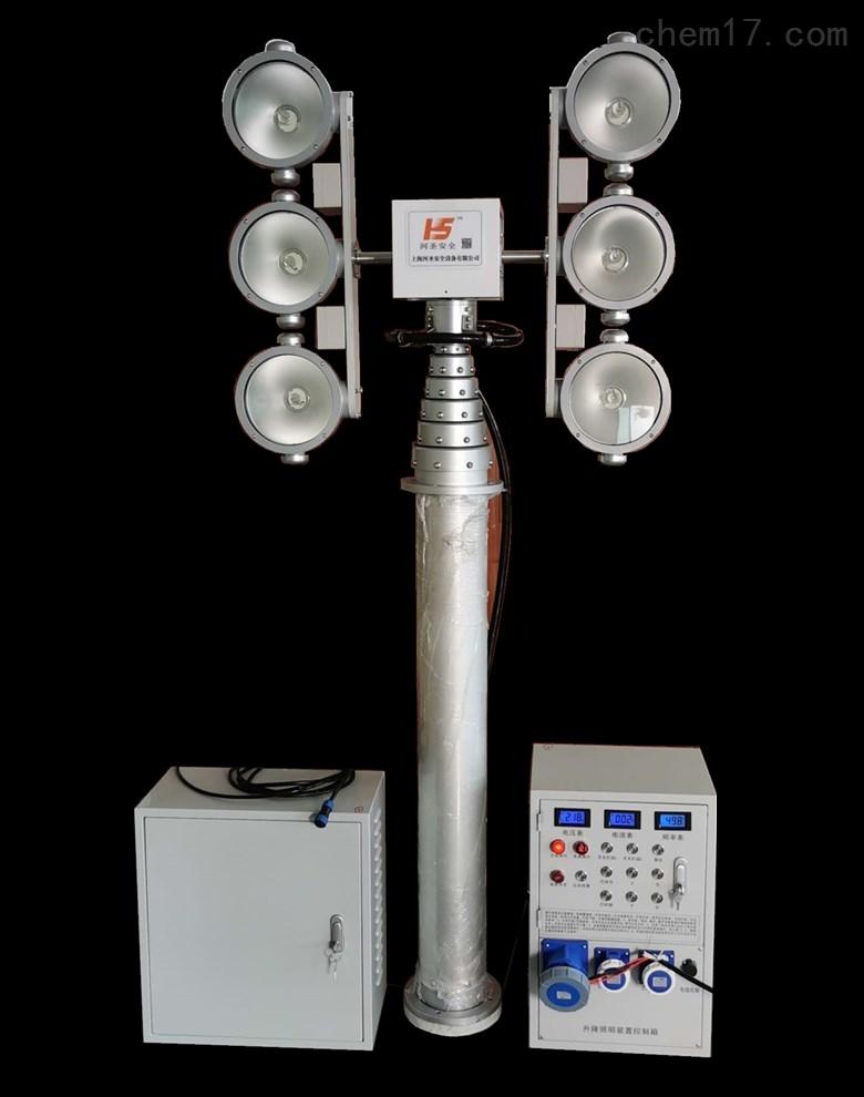 车载照明系统户外应急车用充电应急升降照明灯