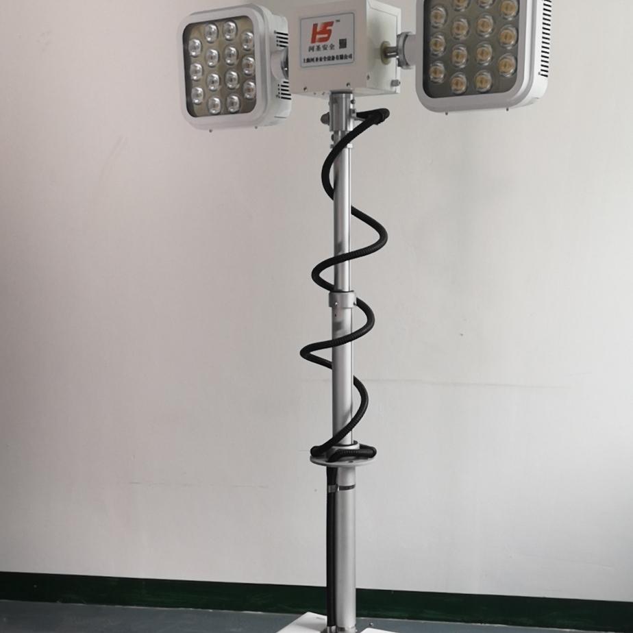 车载遥控升降照明设备