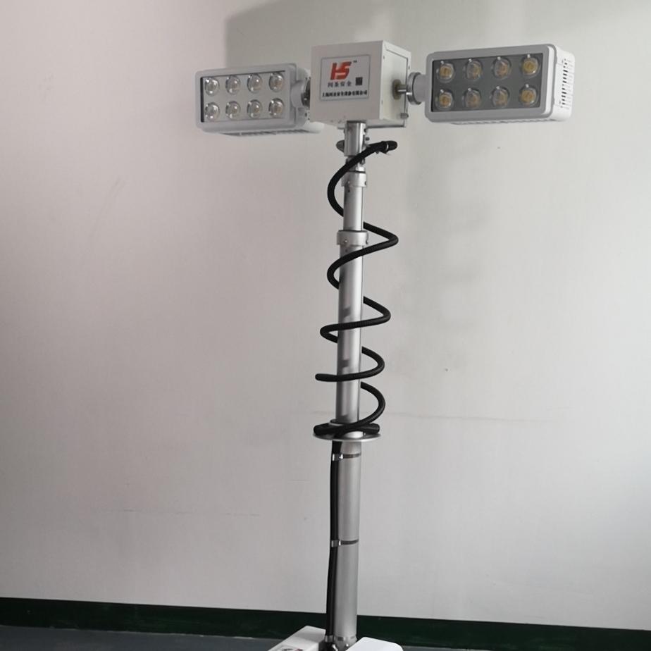 曲臂升降照明特种车辆汽车车载升降监控平台