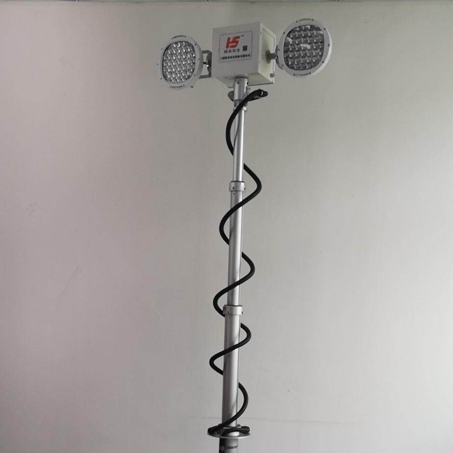 升降照明灯应急抢险汽车移动式月球灯