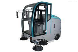 BL-2000F江西工廠物業環衛清掃吸塵用電動掃地車