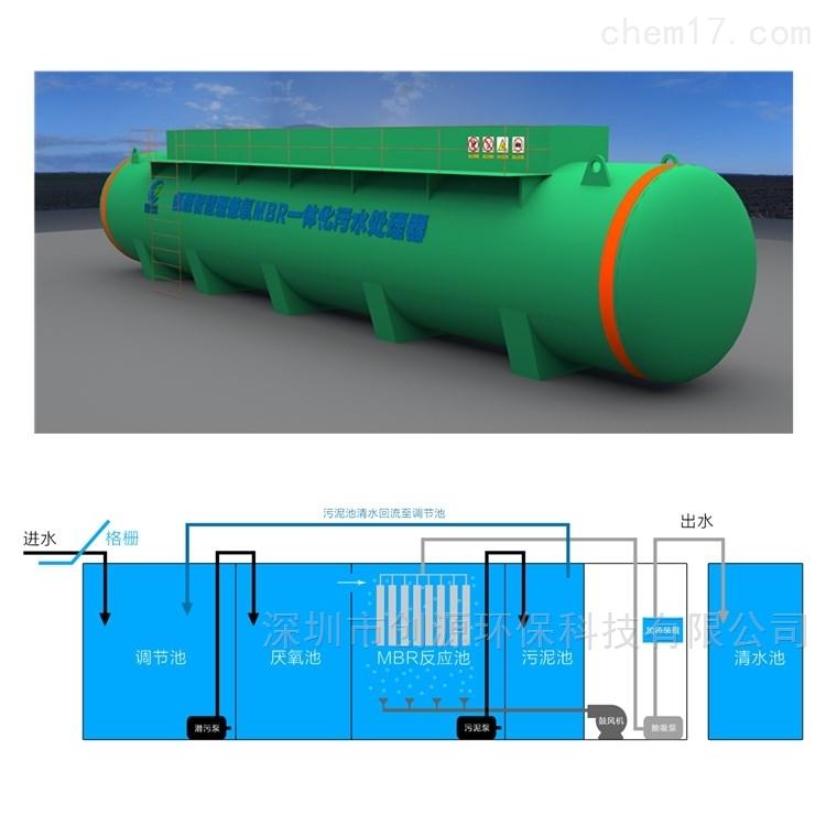 一体化MBR污水处理设备