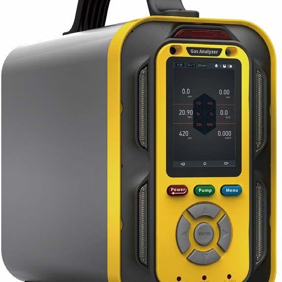 手提式六合一氣體檢測儀