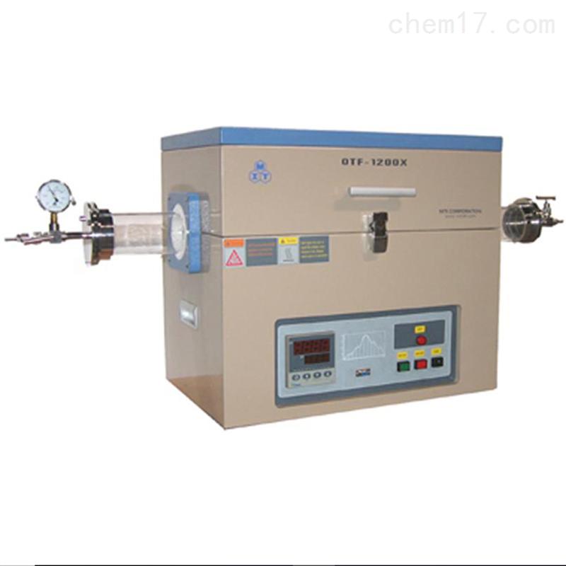 1200℃单温区开启式真空管式炉