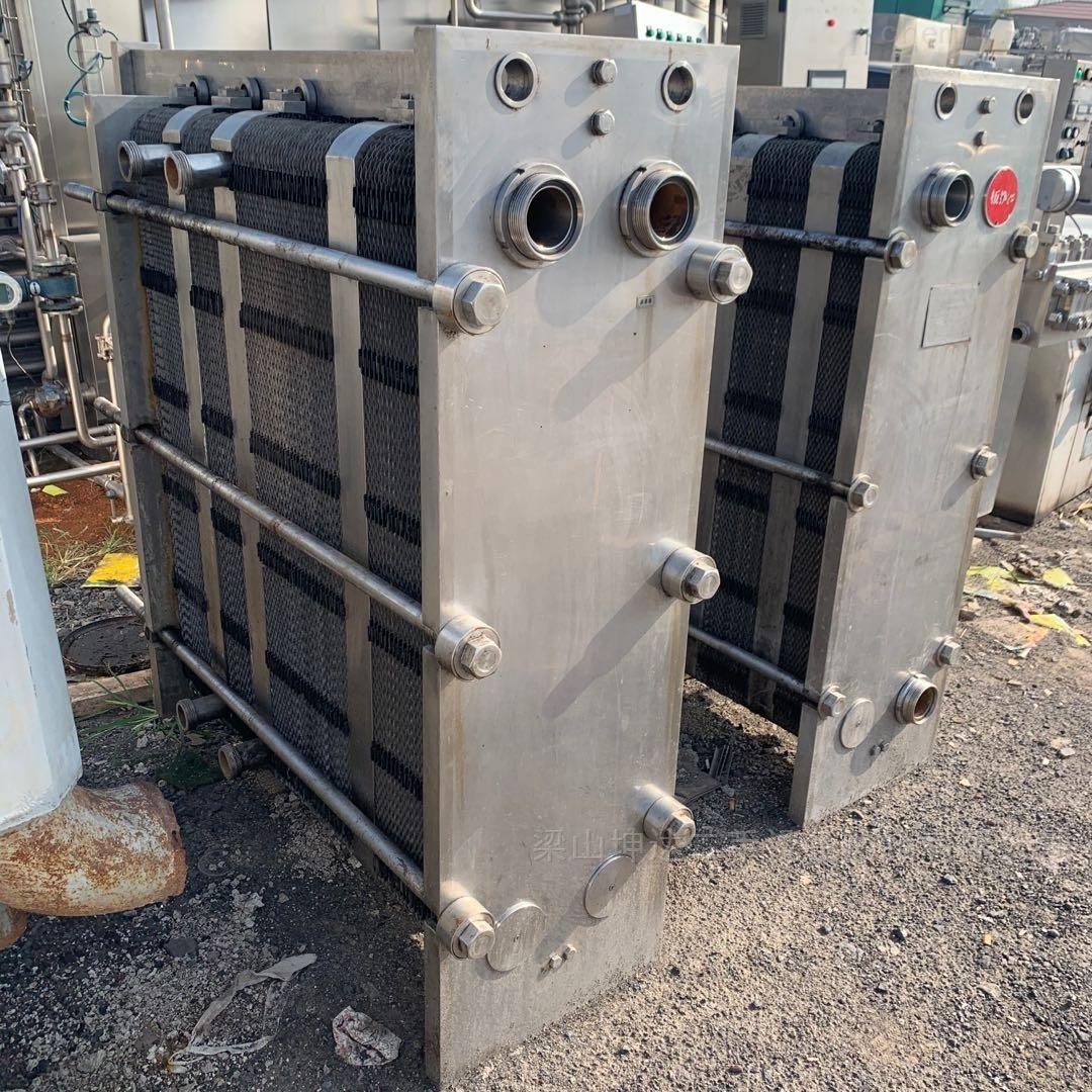 处理 二手不锈钢列管冷凝器 板式换热器