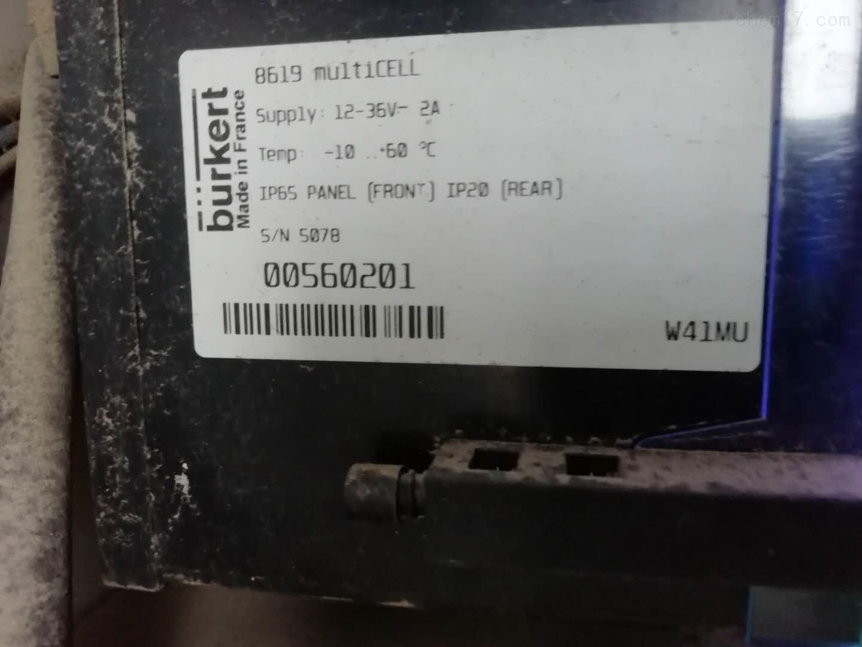 8619multiCELL型多通道多功能burkert变送器