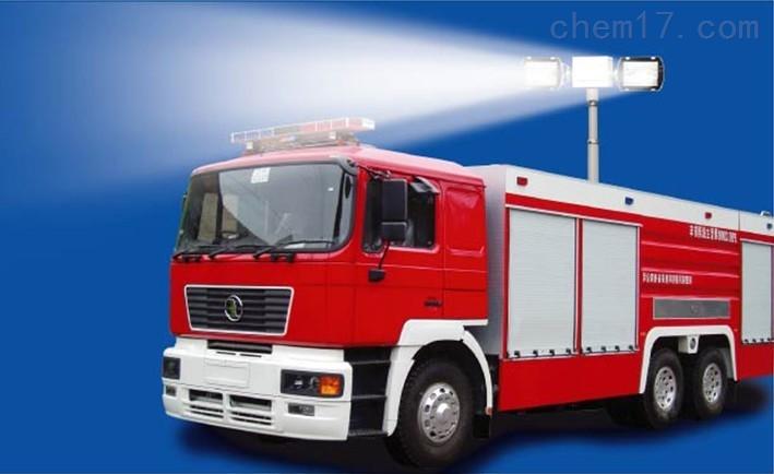 上海河圣 消防车升降照明灯 4灯头照明灯 售后维护