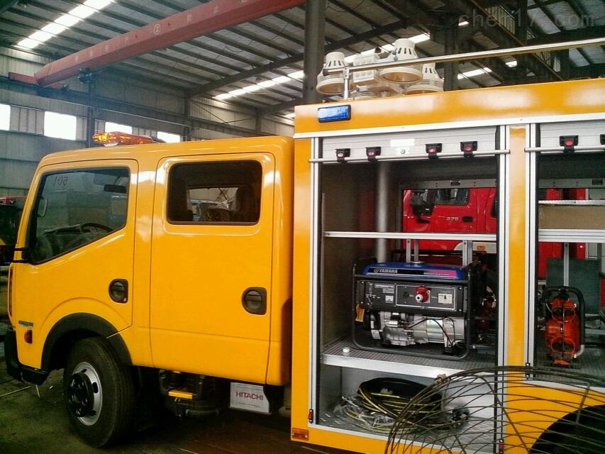 河圣安全 消防车升降照明灯 车载照明设备 咨询服务