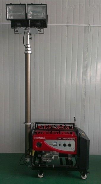 河圣安全 消防应急移动照明灯 5000W照明灯 上门安装