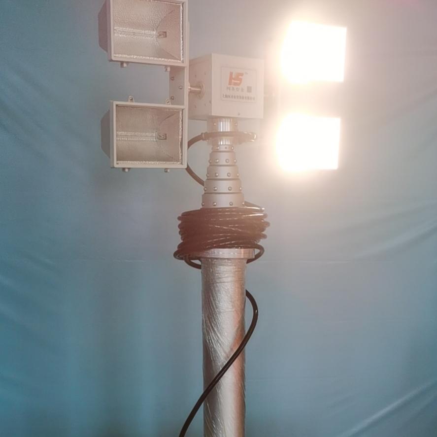 排涝车应急照明设备 应急升降灯 河圣牌