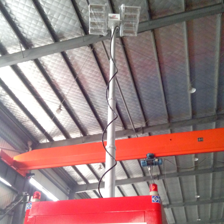 移动消防应急装置 便携式升降探照灯