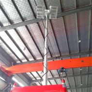 河圣安全 气动升降杆照明装置 2000W照明灯
